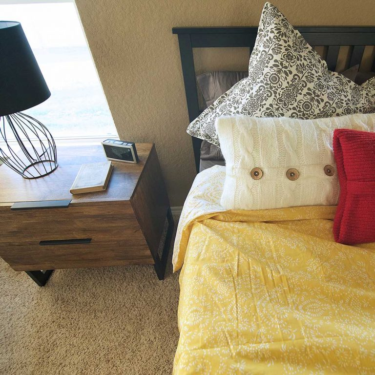 Master Bedroom, Model Home Staging