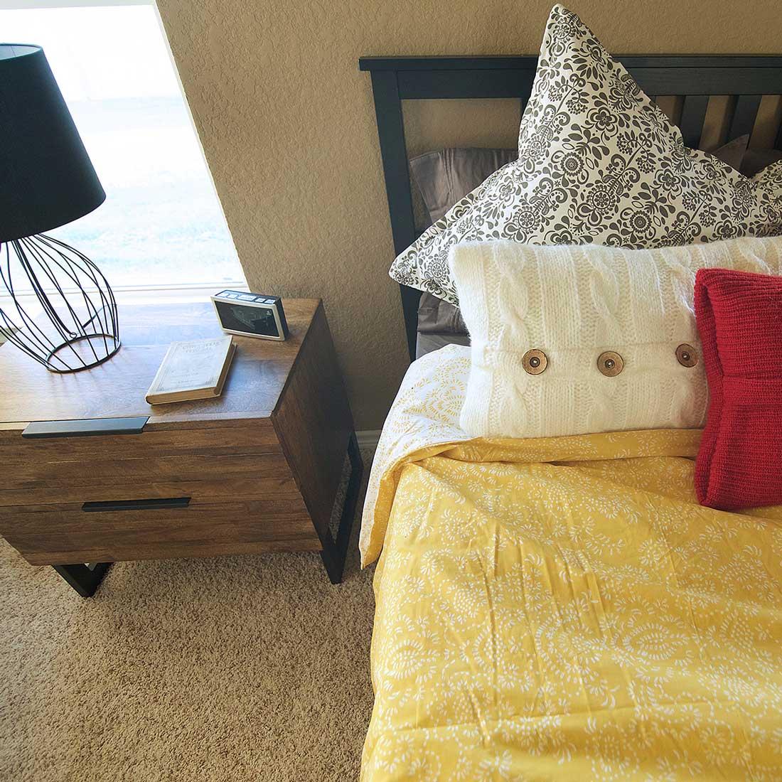 Master Bedroom, Model Home Staging